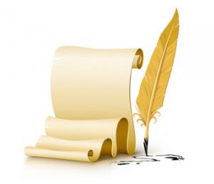 Feather Pen and Paper 1 300x258 - Історія утворення органів Пенсійного фонду України  в Хмельницькій області 1990 – 2018 роки